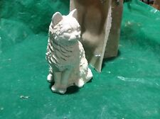LATEX ONLY MOULD SITTING CAT 22CM TALL ORNAMENT MOULD