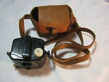 BABY BROWNIE SPECIAL BY EASTMAN KODAK AND SOFT LEATHER CASE ART DECO STYLE   T*