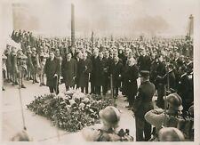 PARIS c. 1930 - Cérémonie Centenaire Mort de Bolivar Soldats - PRM 614