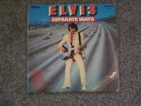 ELVIS PRESLEY SEPARATE WAYS : Vinyl Record LP Album : Elvis Presley