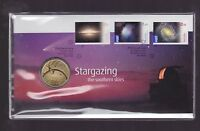 2009 Stargazing International Year Astronomy Australia FDC PNC $1 Coin Stamp Se
