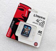 Kingston Speicherkarte SDHC 4GB, Class 6 - SD6/4GB (NEU, OVP)