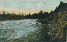 WATERTOWN NY – Black River View - 1911