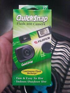 Vintage Fujifilm Quicksnap Flash 400 asa 35mm Single Use Disposable Camera