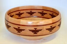 Beautiful segmented wood bowl