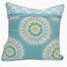 New Dena Home Breeze Throw Pillow Size Square Aqua