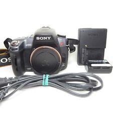 EXCELLENT Sony Alpha DSLR-A550 14.2MP Digital SLR SAM Camera - Black (Body Only)