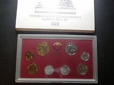 originaler KMS 1993 Österreich  mit 2 & 5 Groschen  W/17/395
