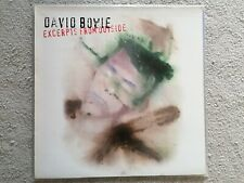 DAVID BOWIE EXCERPTS FROM OUTSIDE 1995 ORIGINAL PRESSING booklet Vinyl LP record