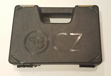CZ 75 Black & Gold CZUB, CZ-USA Full Size Pistol Handgun Gun Case Box BRAND NEW