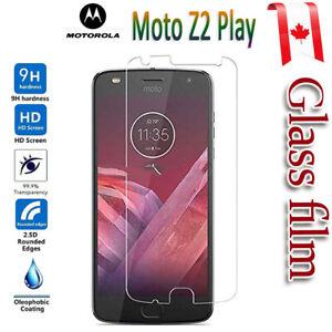 For Motorola Moto Z2 G6 E5 Play E4 G5 Tempered Glass Screen Protector Film Guard