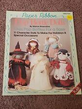 Paper Ribbon: Pop Bottle Dolls By Marion Brizendine, Plaid 8684