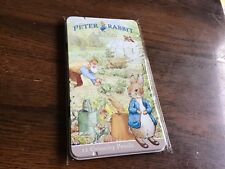 Peter Rabbit  illustrated tin with  12 colouring pencil