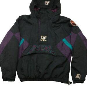 Vintage Starter Anaheim Mighty Ducks Pullover Jacket Kids Large