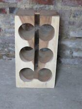 Porte bouteilles en bois de Meh