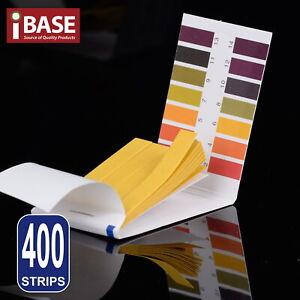400 pH Test Strips Urine Litmus Paper Saliva Acid Alkaline Liquid Indicator Test