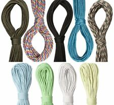 Paracord 100ft 550 7 Strand Cord Rope for Bushcraft Survival EDC Glow
