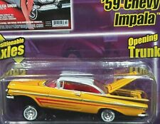 59 1959 Chevy Impala Lowrider Magazine Chevrolet Revell Collectible Car Yellow