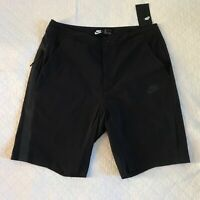 Nike Woven Tech Shorts Men's SZ M (32 ) Sportswear Black 927925-010 NWT