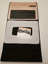 Leather Case with Bluetooth keyboard, for tablets 10.5 inches, Rose Gold