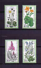 Berlin 1977 postfrisch Nr. 556 - 559 ** Blumen Flowers