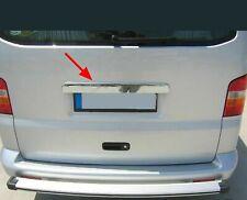 Moldura de matrícula trasera cromada para VW T5 Transporter Caravelle Multivan