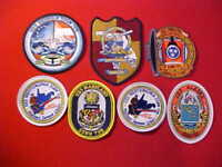 ( 7 )  NEW US Navy Submarine Boat patches - Dealer lot of patches ships crests