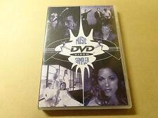 MUSIC DVD / MUSIC DVD VIDEO SAMPLER ( MADONNA, CLAPTON... )