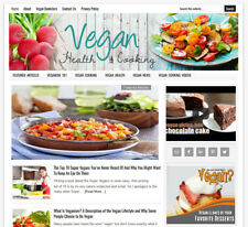 Vegan Health Amp Cooking Blog Turnkey Website For Sale Auto Content Updates