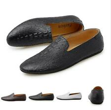 Men Pumps Slip on Loafers Shoes Driving Moccasins Pointy Toe Flats Comfy Flats L
