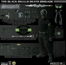 Mezco Toys One 12 Black Skull Death Brigade - In-Hand, Ready to Ship!