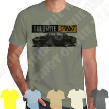 Black Triumph Dolomite Sprint mens T-shirt 100% Cotton 7 colours to choose