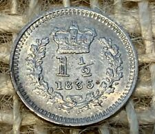 More details for 1835 william 4th silver threehalfpence ef