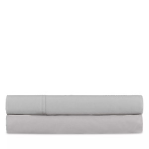 Ralph Lauren 464 Percale King Extra Deep Fitted Sheet $145 Pale Flannel Gray