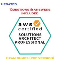 Amazon AWS Certified Solutions Architect Professional real questions and answers