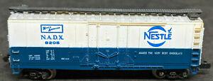 N Scale Bachmann: NESTLE N.A.D.X. #8205 Boxcar - Blue, Vintage
