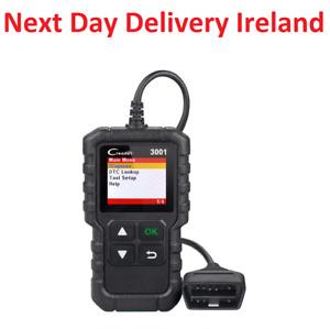 LAUNCH CR3001 OBD2 Scanner OBD 2 Engine Code Reader Car Diagnostic Reset Tool