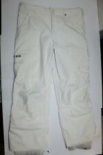 Burton Men's Size XL Dry Ride Pants Snowboarding Snow Suit Ski Cream Off White