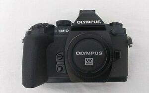 OLYMPUS OM-D E-M1 CAMERA with OLYMPUS 12-50mm F3.5-F6.3 ED Lens + Accessories