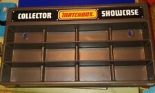 Unused Matchbox Collector Showcase DisplayUnpunched with Original Shipping Box