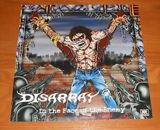 Disarray In the Face of the Enemy Poster 2-Sided Flat Square Promo 12x12