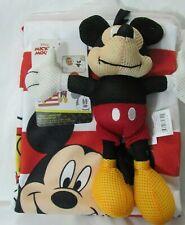 Disney Mickey Mouse Bath Set 2 pc Towel & Scrubby Buddy kids bath new