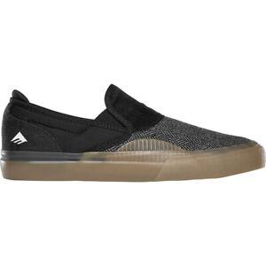 Emerica Skateboard Shoes Wino G6 Slip-On Black/Gum/White Mens