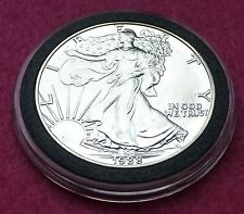 1988  SILVER EAGLE  $1 ONE DOLLAR COIN - LOVELY COIN  ENCAPSULATED