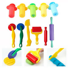 5/6 Dough Tools Extrusion Play Set Modelling Clay Extrusion Mold Kids Toy