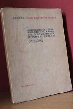 Cahiers Pierre Teilhard de Chardin CONSTRUIRE LA TERRE Building the Earts (1958)