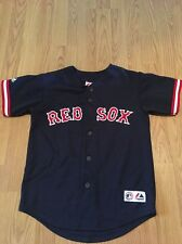 Vintage Boston Red Sox Curt Schilling Majestic Jersey Sewn Size Youth Medium