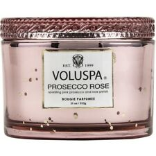 Voluspa Candle Prosecco Rose Candle With Lid