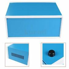250mm x 190mm x 110mm Blue Metal Electronic Enclosures DIY Project Junction Box