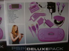 PSP DELUXE PACK LOTS OF ACCESSORIES INCLUDING POWER SUPPLY AND HEADPHONES +MORE